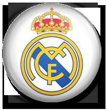 25 Chapa Escudo Real Madrid