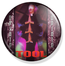 chapa de 25mm, Tool, Opiate album button