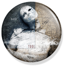 chapa de 25mm, Tool, Sober album button