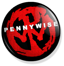chapa de 25mm, Pennywise, Logo button