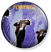 chapa de 25mm, Pennywise, Unknown road album button