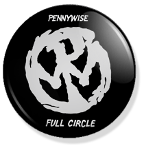 chapa de 25mm, Pennywise, Full circle album button