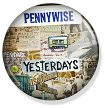 chapa de 25mm, Pennywise, Yesterdays album button