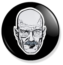 chapa breaking bad walter white button