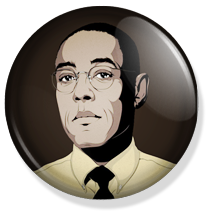 chapa breaking bad button Gus Fring