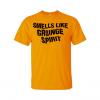 smells like grunge spirit t-shirt gold