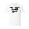smells like grunge spirit t-shirt white