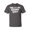 smells like grunge spirit t-shirt grey