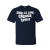 smells like grunge spirit t-shirt navy