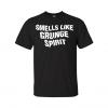 smells like grunge spirit t-shirt black