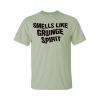 smells like grunge spirit t-shirt green