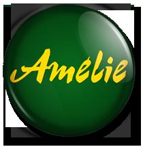 chapa amelie button, logo