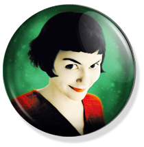 chapa amelie button, green cover