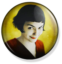 chapa amelie button, yellow cover