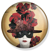 chapa amelie button,art