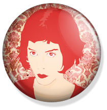 chapa amelie button, portrait