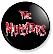 chapa de 25mm, The Munsters, Logo button