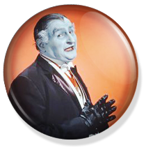 chapa de 25mm, The Munsters, Granpha button