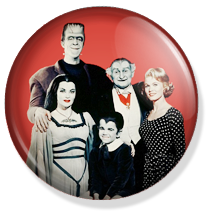 chapa de 25mm, The Munsters, Family button