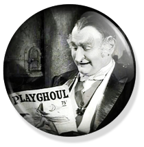 chapa de 25mm, The Munsters, Playghoul button