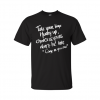 come as you are t-shirt black