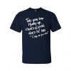 come as you are t-shirt navy