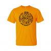 negative creep t-shirt gold