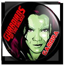 gamora button