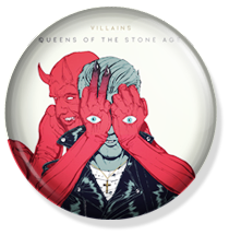 chapa 25mm /38mm queens of the stone age