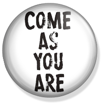 come as you are nirvana button