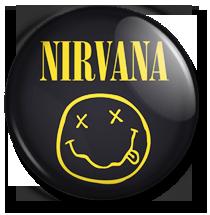 nirvana logo button