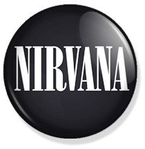 nirvana logo button