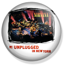 nirvana, mtv unplugged album button